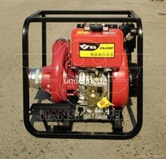 4寸柴油高壓泵德國翰絲4進3出口徑