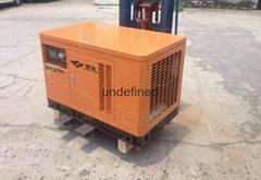 燃氣發電機工廠價12千瓦靜音箱式