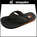 Fancy cheap men thong sandals thin sole
