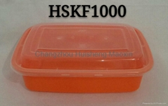 Rectangle KF1000ml Dispo