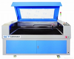 SCT-C1610 100w wood laser cutting machine