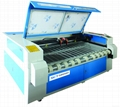 SCT-F1810 Double head fabric laser cutting machine