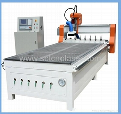 SCT-L1325 wood door funiture making ATC cnc router