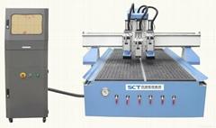 SCT-PH1325 multi spindles cnc wood working machine