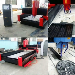 SCT-S1215 marble granite engraving cnc machine