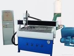 SCT-W1212 vacuum bed wood router cutting machine