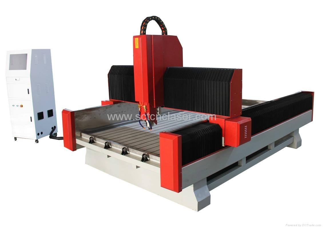 SCT-S1325 artificial stone cnc engraving cutting machine 1