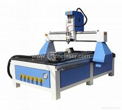 SCT-W1325 Wood cylinder CNC engraving machine