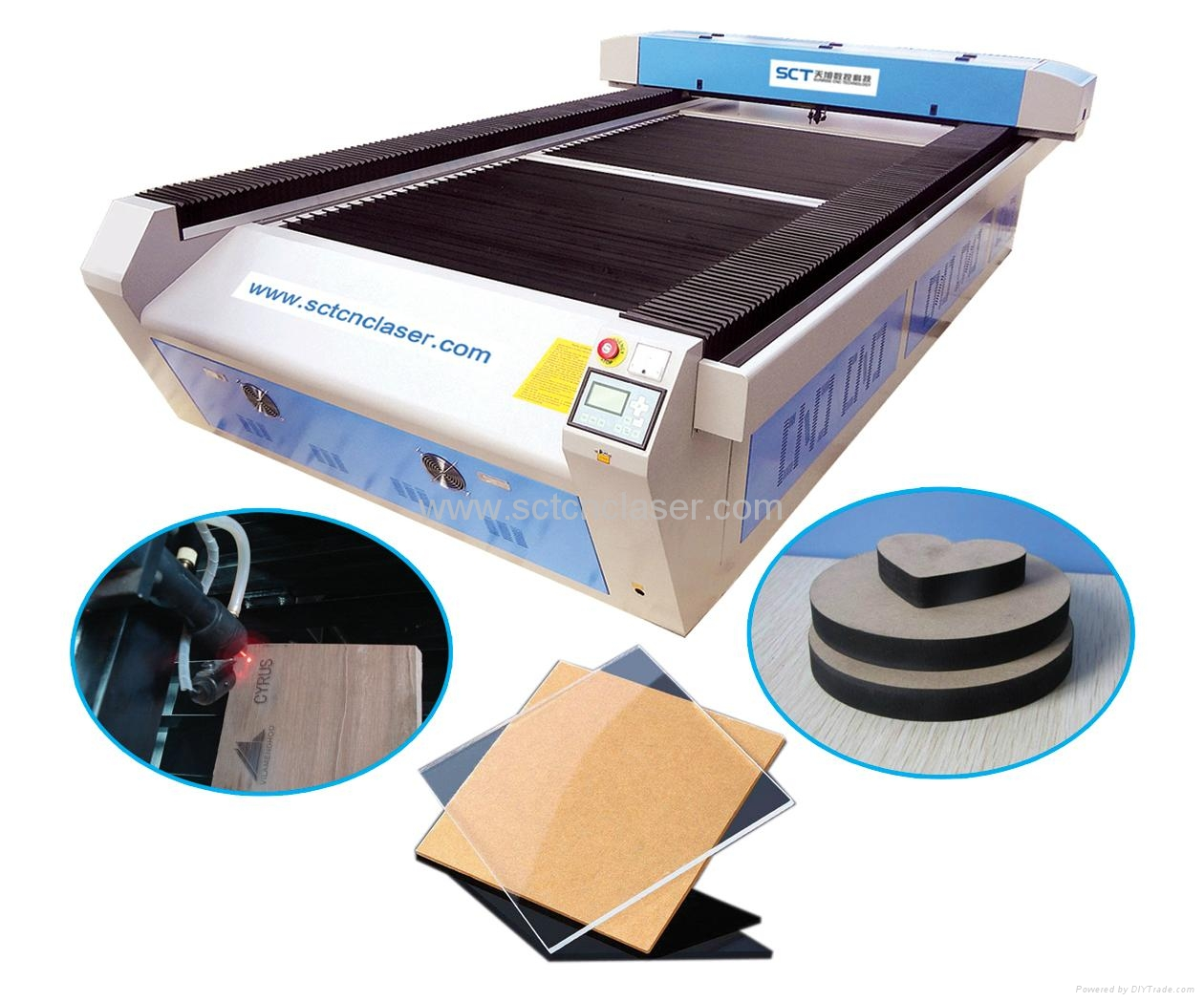 Supply OEM Fabric Cutter Laser Factory & Exporter CNC co2