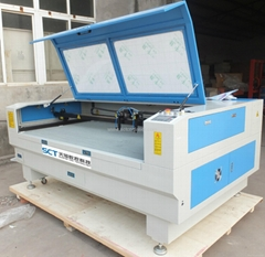 SCT-D1610 1600x1000mm double head CO2 laser cutting machine