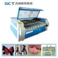 SCT-F1810 Auto-feeding textile laser cutting machine two heads