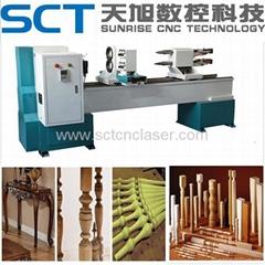 SCT-1516 Baseball Bat Automatic CNC Wood Lathe