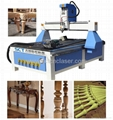 SCT-W1325 rotary cnc router 4th axis for wood engraving cutting