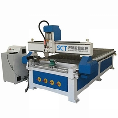 SCT-W1325 DSP 4 axis cnc router wood 3d cnc wood carving machine