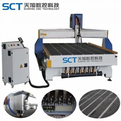 SCT-W1530 3d woodworking CNC router for solidwood