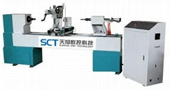 SCT-1530 automatic wood cnc lathe 1500mm Woodworking Copy Lathe