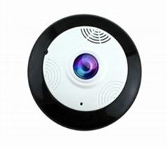 360 Panoview camera Wireless P2P Fisheye Len Support powerbank battery powered
