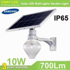 10W Solar LED Street Light Solar LED garden Light IP65 waterproof