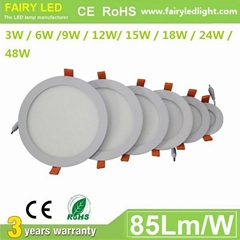 Elegant Design Super Slim Round LED