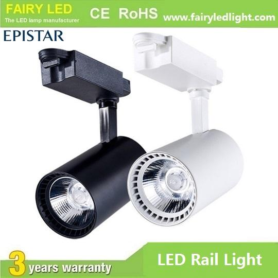 Hot-selling High Bright Epistar COB LED Track Light 10W 20W 30W 3 years warranty 1