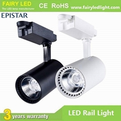 Hot-selling High Bright Epistar COB LED Track Light 10W 20W 30W 3 years warranty