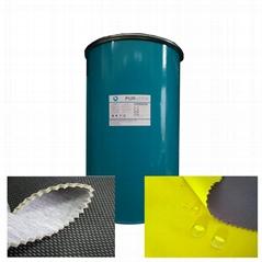 PUR hot melt adhesive for laminated fabrics