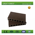 eco-friendly hollow co-extrusion wpc laminate flooring wpc flooring 1