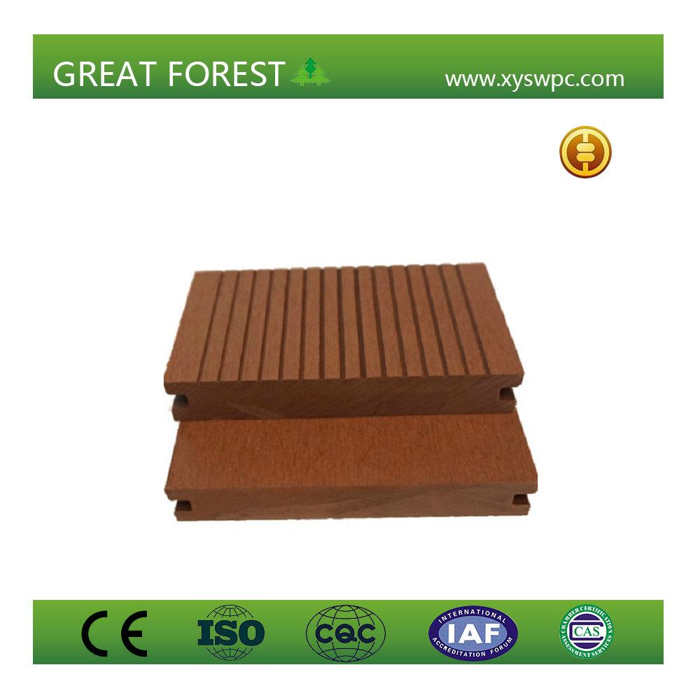 artificial crack-resistant anti-corrosion eco-friendly wpc decking floor 1