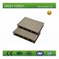Manufacturer price eco-friendly Outdoor long lifetime wpc floor 1