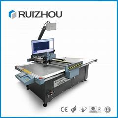 Advanced CNC vibrating knife leather cutting machine for cloth