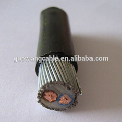 0.6/1KV 2C 2x95mm2,2x120mm2 cu/xlpe/swa power cable price/for UG
