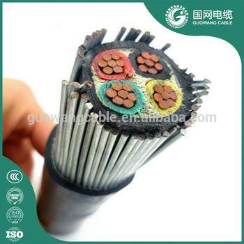 4芯 低压电力电缆 YJV32 4x120mm2 价格 用于输配电线路,建筑,地埋等厂家直销 1