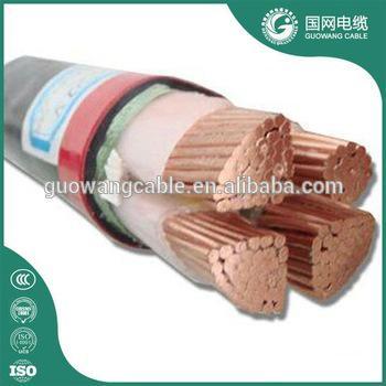 4芯 低压电力电缆 YJV32 4x120mm2 价格 用于输配电线路,建筑,地埋等厂家直销 2