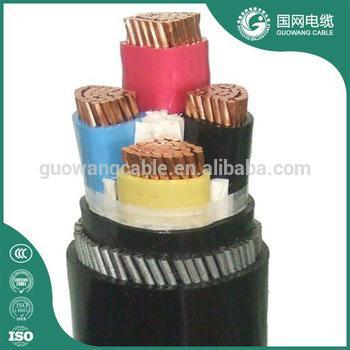 4芯 低压电力电缆 YJV32 4x120mm2 价格 用于输配电线路,建筑,地埋等厂家直销 3
