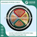 4芯 低压电力电缆 YJV32 4x120mm2 价格 用于输配电线路,建筑,地埋等厂家直销 5