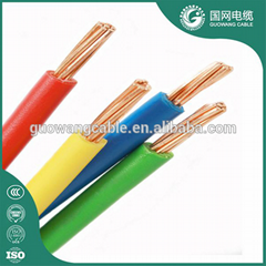 4mm2 copper wire price PVC insulated electrical wire for building