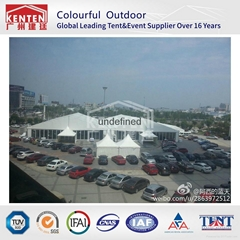 High quality Aluminium 20m span width trade show Tent Exhibition Tent for Canton