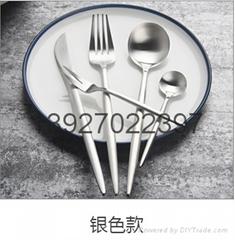 专业生产高档304不锈钢餐具勺子批发定制