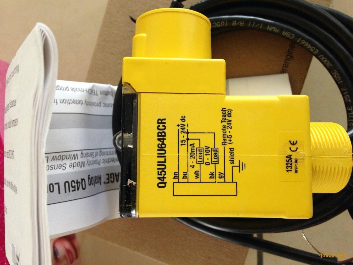 美国banner邦纳超声波传感器T30UUNA 1