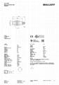 BALLUFF巴鲁夫电感式接近开关BES M18EI-PSC80B-S04G 5