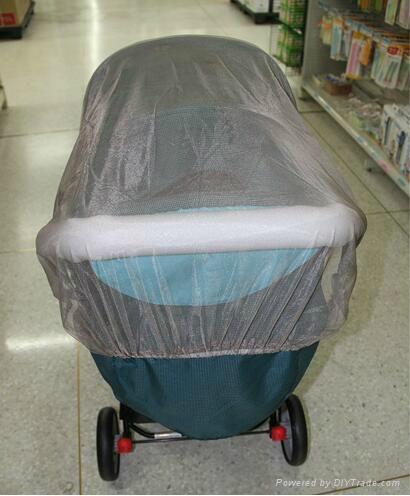 Silver fiber Baby cart shielding anti-radiation mosquito net fabric 1