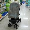 Silver fiber Baby cart shielding anti-radiation mosquito net fabric 3
