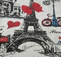 wholesale bulk towel printed cotton linen fabric with cheap price 5