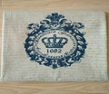 zakka crown royal printed cotton linen