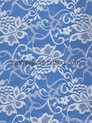 植物花纹蕾丝面料