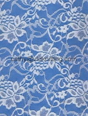 Floral Lace Fabrics for Lady Garment
