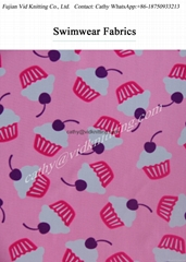 Nylon Lycra Swimwear Fabric