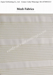Eco Friendly Fancy Design Knitted Mesh Fabric
