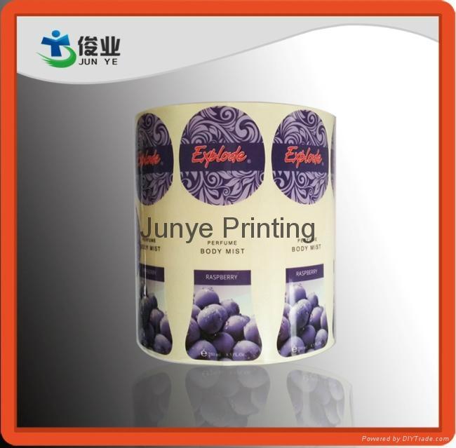 Printing Labels for Body Mist Bottles 1