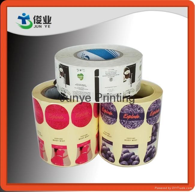 Printing Labels for Body Mist Bottles 3